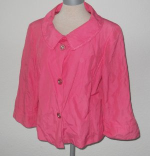 Betty Barcley Blazer Jacke pink Gr. 40 42 neu 3/4 Arm