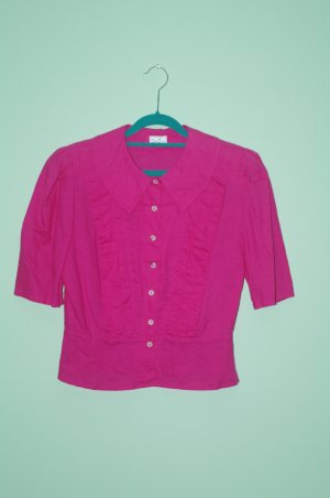 Betty Barcley Bluse Pink 80er Jahre Oberteil Größe 38 Retromode