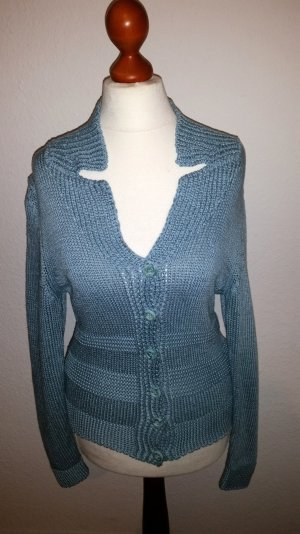 Betty Barcley,  edle Woll-Strickjacke, Gr. 36/38