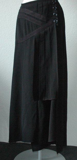 Betty Barcley Rock schwarz Gr. 40 gothic geschlitzt