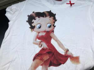 Betty Boo Damen-Shirt