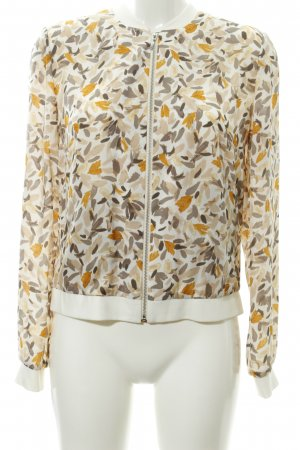 Betty & Co Blouson Motivo schizzi di pittura stile casual
