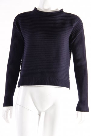 Betty & Co. Crop Pullover dunkelblau