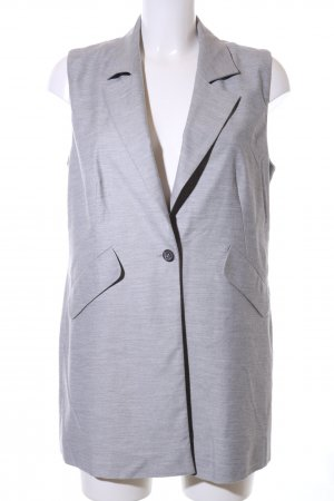 Betty & Co Jersey Blazer light grey flecked business style