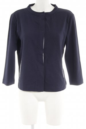 Betty & Co Jerseyblazer dunkelblau-weiß Casual-Look