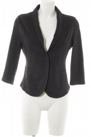 Betty & Co Jerseyblazer dunkelgrau meliert Casual-Look
