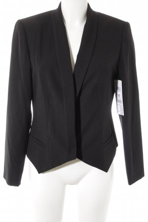 Betty & Co Kurz-Blazer schwarz Business-Look
