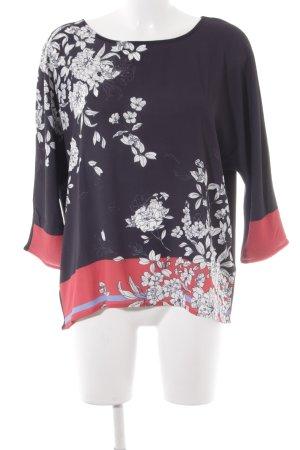 Betty & Co Langarm-Bluse Blumenmuster Elegant