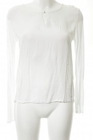 Betty & Co Long Sleeve Blouse white casual look
