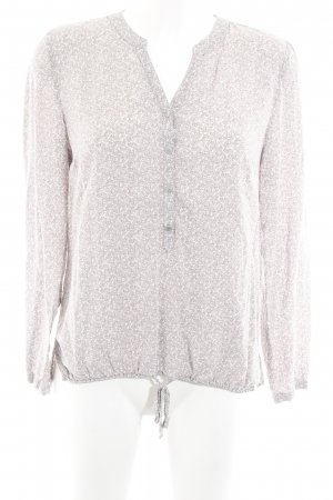 Betty & Co Long-Bluse grafisches Muster Romantik-Look