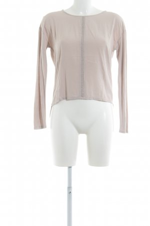 Betty & Co Manica lunga beige stile casual