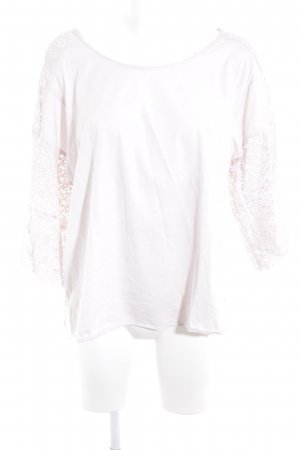Betty & Co Camicia oversize rosa antico stile casual