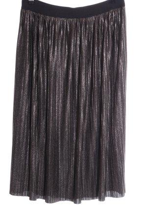 Betty & Co Plisseerock schwarz Elegant