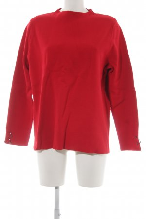 Betty & Co Jersey de cuello redondo rojo look casual