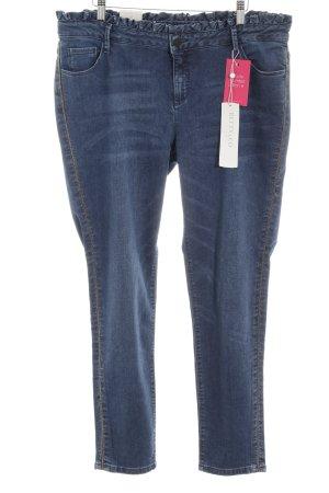 Betty & Co Slim Jeans blau Casual-Look