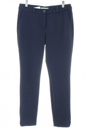 Betty & Co Stoffhose blau Business-Look