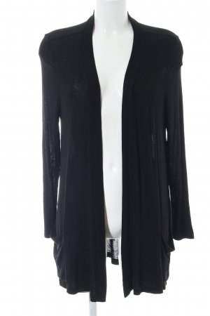 Betty & Co Knitted Cardigan black casual look