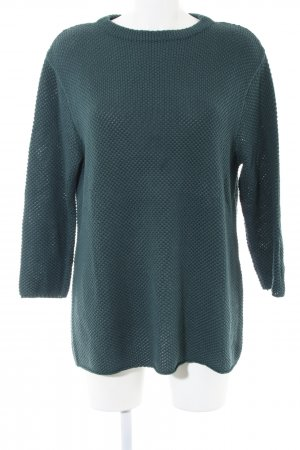 Betty & Co Knitted Sweater green casual look