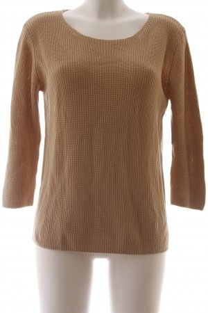 Betty & Co Strickpullover beige Casual-Look