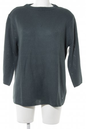Betty & Co Strickpullover petrol Webmuster Casual-Look