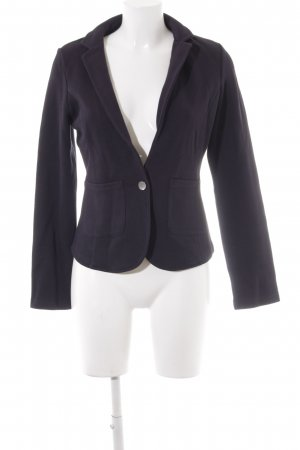 Betty & Co Sweatblazer schwarz schlichter Stil