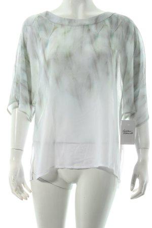 BETTY & CO Tunikabluse hellgrün-weiß Farbverlauf klassischer Stil