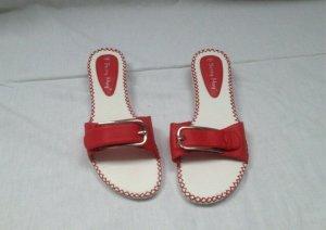 Sandalo infradito rosso