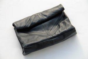 Beutel Clutch von Zara in Schwarz