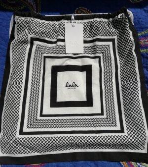 Lala Berlin Bolso de tela negro-blanco Algodón