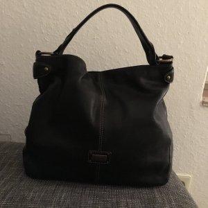 Beutel / Tasche in schwarz aus Leder von coccinelle