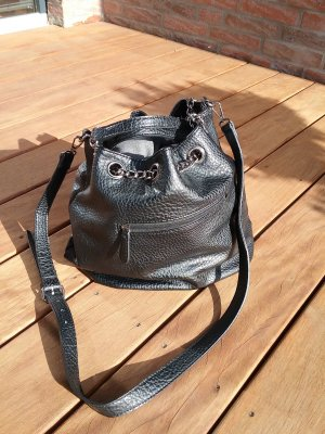 Marc Picard Pouch Bag black imitation leather
