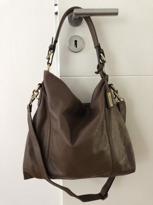 abro Pouch Bag taupe-light brown