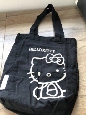 Hello kitty Sac seau noir-blanc