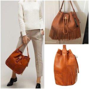 Beuteltasche Handtasche zara Style braun von Tamaris