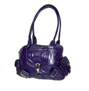 Beuteltasche - Schultertasche - Handtasche lila von Selina