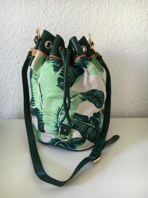 Beuteltasche von Juicy Couture mit Palmenprint
