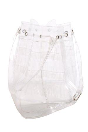 Beuteltasche weiß extravaganter Stil