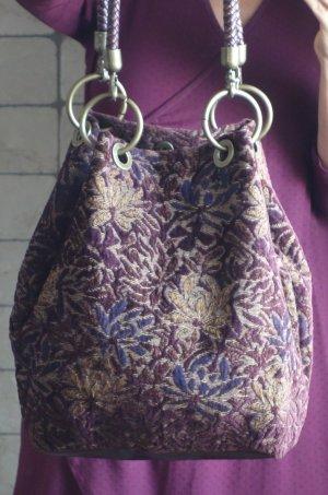 Jago Pouch Bag multicolored textile fiber