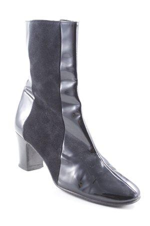 Beverly Feldman Absatz Stiefel schwarz Elegant