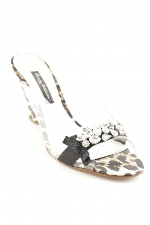 Beverly Feldman Wedge Pumps leopard pattern extravagant style