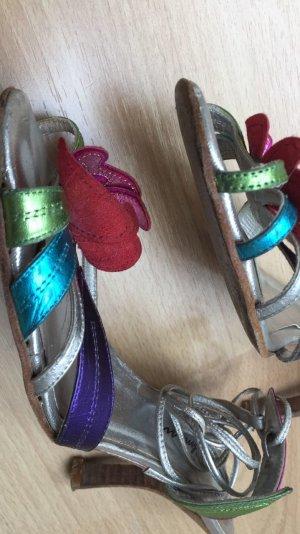 Beverly Feldman Sandalias de tiras multicolor