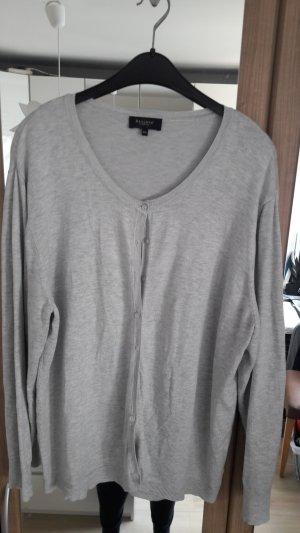 Bexleys Giacca in maglia grigio chiaro