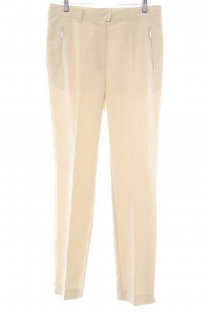 Bexleys Bundfaltenhose hellbeige Business-Look
