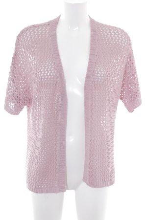 Bexleys Cardigan rosa Motivo a maglia leggera stile casual