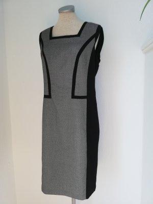 Bexleys Etuikleid grau schwarz Gr. 38 neu Kleid business Büro knielang