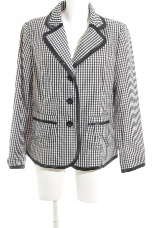 Bexleys Short Blazer white-black check pattern vintage look