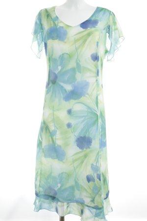 Bexleys Kurzarmkleid florales Muster Elegant