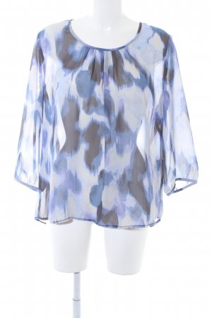 Bexleys Long Sleeve Blouse abstract pattern casual look