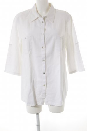 Bexleys Camisa de manga larga blanco look casual