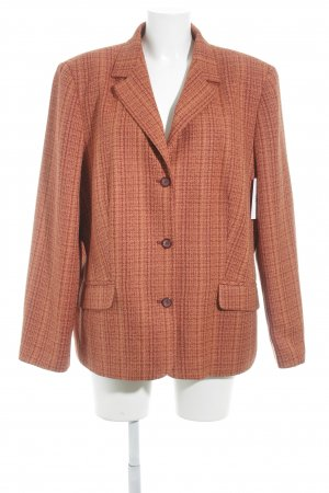 Bexleys Long Blazer dark red-orange flecked business style